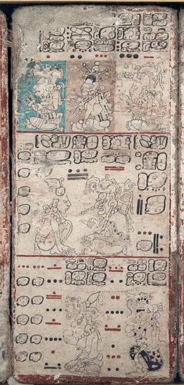 Imagen del Código Dresdensis procedente de la World Digital Library