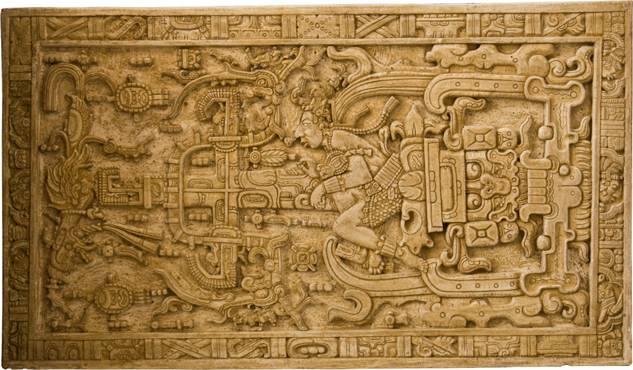 La magnífica tapa del sarcófago de Pakal. Asaf Braverman / Flickr