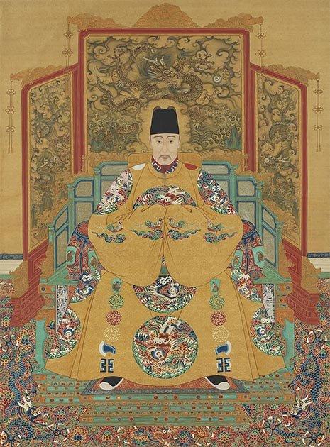 El emperador Jiajing, duodécimo emperador de la dinastía Ming, que también buscó el elixir de la inmortalidad. (Dominio publico)