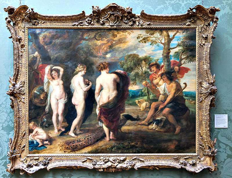 Juicio de Paris, obra de Rubens (Wikimedia Commons)