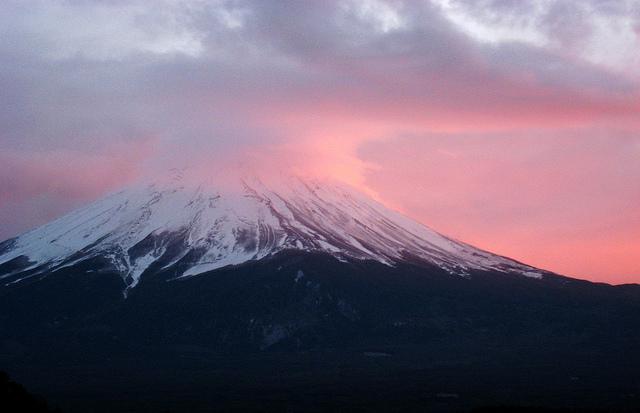 El monte Fuji en un día sereno (Midorisyu/CC BY 2.0)
