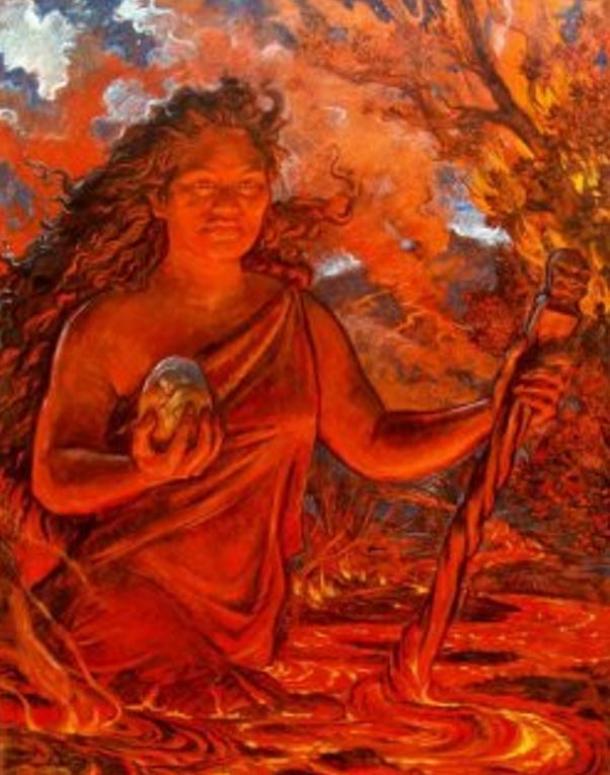 Pele, la Diosa del Fuego hawaiana