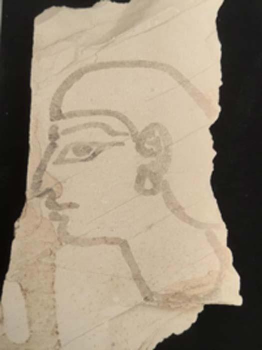 Se descubrieron imágenes entre los artefactos. (Ministerio egipcio de antigüedades)