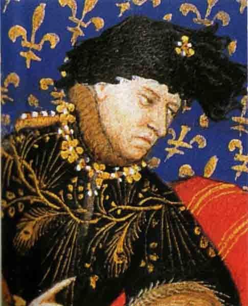 Un monarca loco, el rey Carlos VI de Francia. (Dominio público)