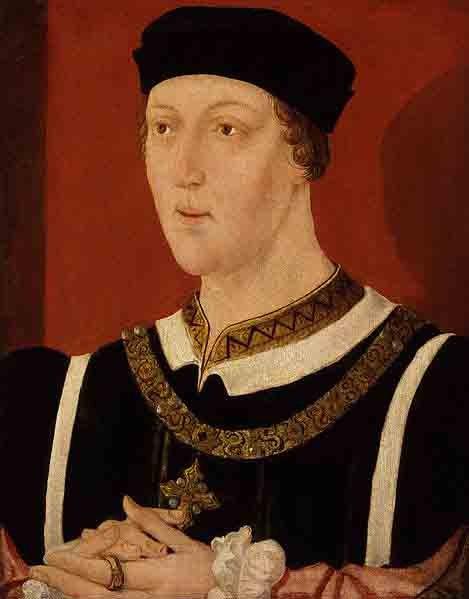 Retrato del rey Enrique VII. (Dominio público)