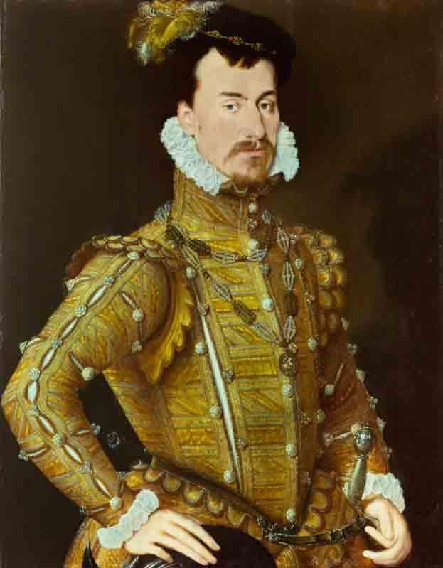 Robert Dudley, conde de Leicester y esposo de Amy Robsart Dudley, quien murió en circunstancias misteriosas. (Atribuido a Steven van der Meulen / Dominio público)