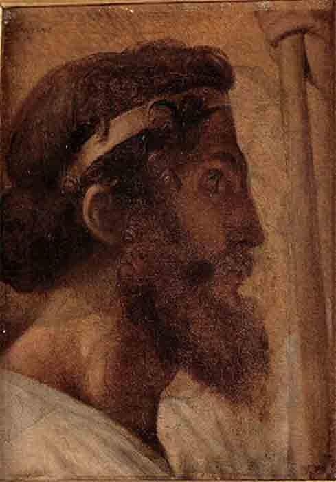 Un retrato de Peisistratus, que nació alrededor del 607 a.C., en Ática. (Jean Auguste Dominique Ingres / CC BY-SA 4.0)