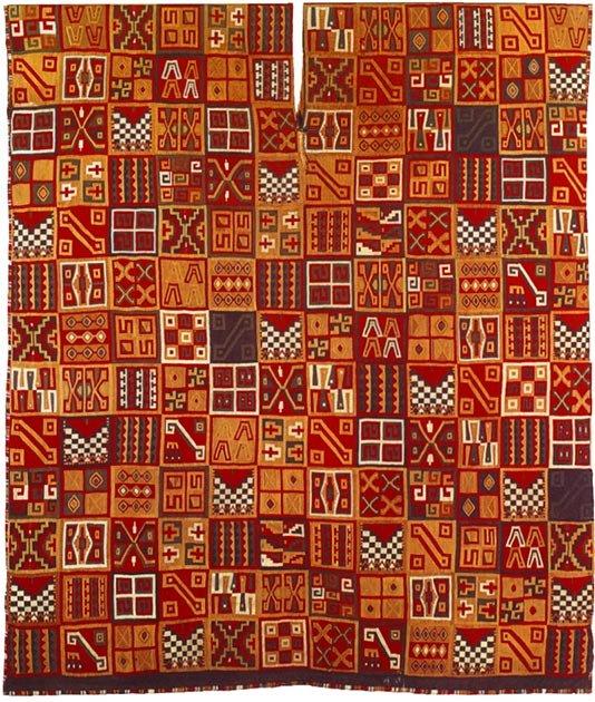 Los incas produjeron muchos objetos valiosos, incluyendo textiles. (Funakoshi-commonswiki / Dominio Público)