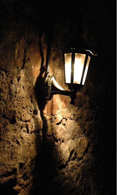 La inquietante atmósfera del interior de las catacumbas. (CC BY 2.5)