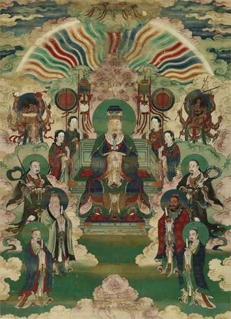 El Emperador de Jade es conocido por muchos nombres. En el idioma chino, se le conoce como Yu Huang o Yu Di. (Dominio público)