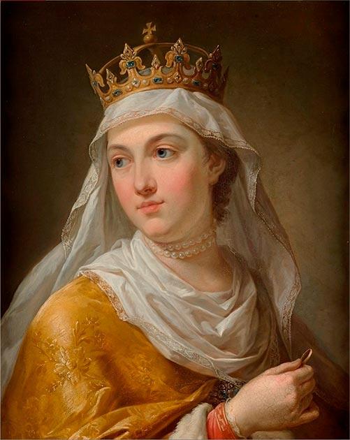 Santa Jadwiga mientras era reina. (Xpeye / Dominio público)