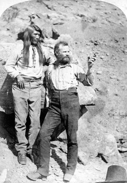 John Wesley Powell en el Gran Cañón. (Parque Nacional del Gran Cañón / CC BY 2.0)