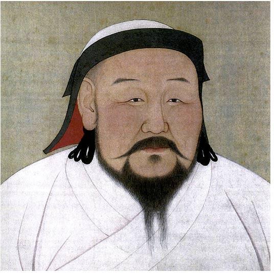 Retrato de Kublai Khan