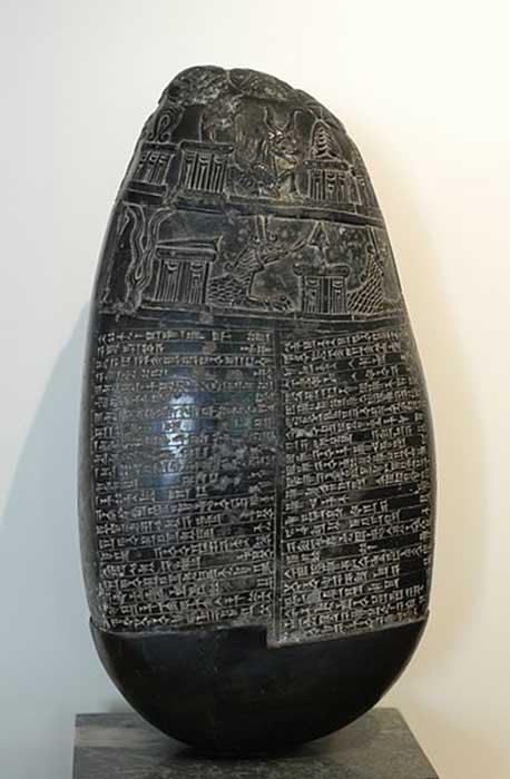 Kudurru de Babilonia de finales del período de Kassite. (Rotatebot / Dominio Público)