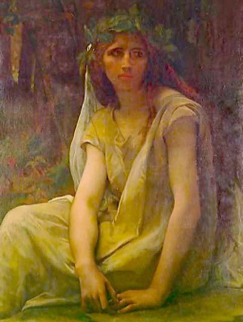 La mitología tiene varias palabras para las druidas femeninas, como bandrui. (PawełMM / Dominio público)