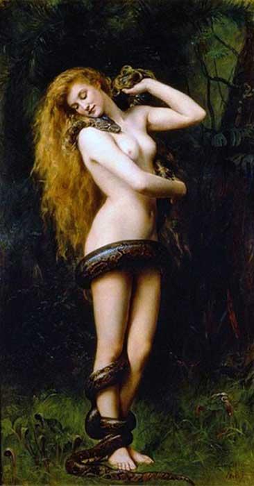 Lilitu, también conocida como Lilith, se debate como una entidad representada en el Relieve de Burney. (Themadchopper / Dominio Público)