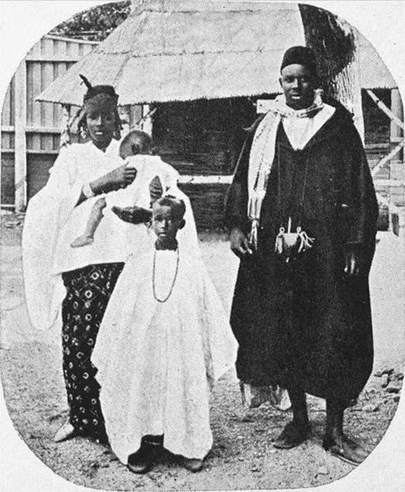 Los africanos expuestos en la Exposición de Jubileo de 1914 en Christiania Oslo, Noruega. (Anne-Sophie Ofrim / CC BY-SA 3.0)