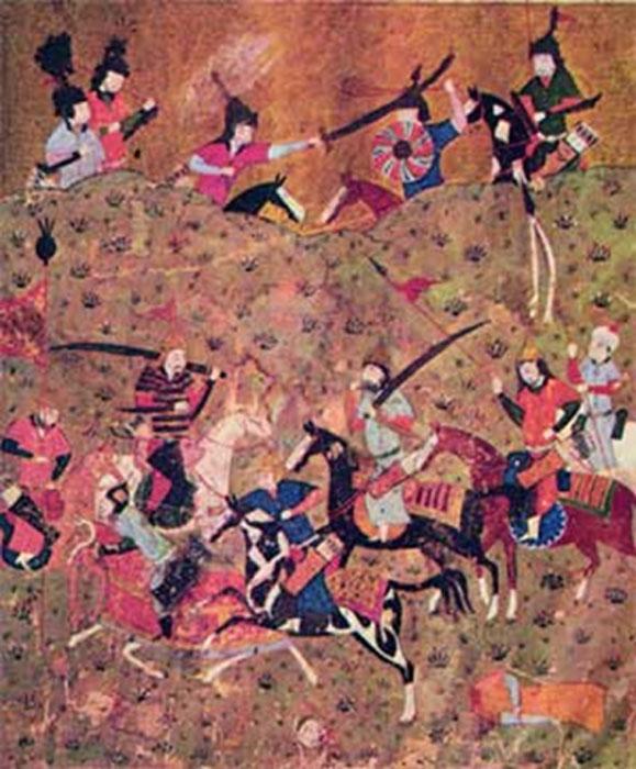 Los Seljuks derrotaron a los Ghaznavids en la Batalla de Dandanaqan. (Dominio publico)
