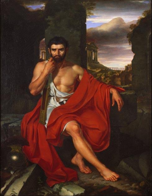Mario, el tío de Julio César, en medio de las ruinas de Cartago. (DcoetzeeBot / Dominio público)