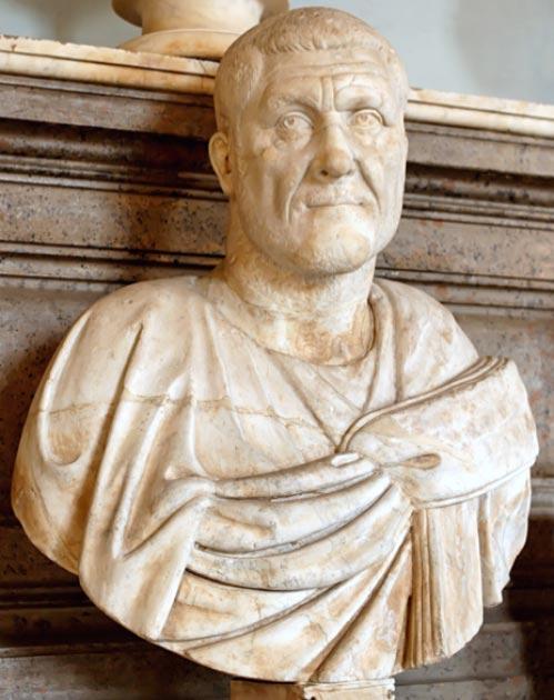 Maximinus Thrax, también conocido como Maximinus I, fue emperador romano de 235 a 238. (Soerfm / Dominio Publico)