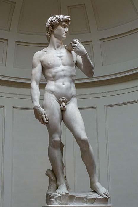 David de Miguel Ángel, 1501-1504, Galleria dell'Accademia (Florencia). (Jörg Bittner Unna / CC BY 3.0)