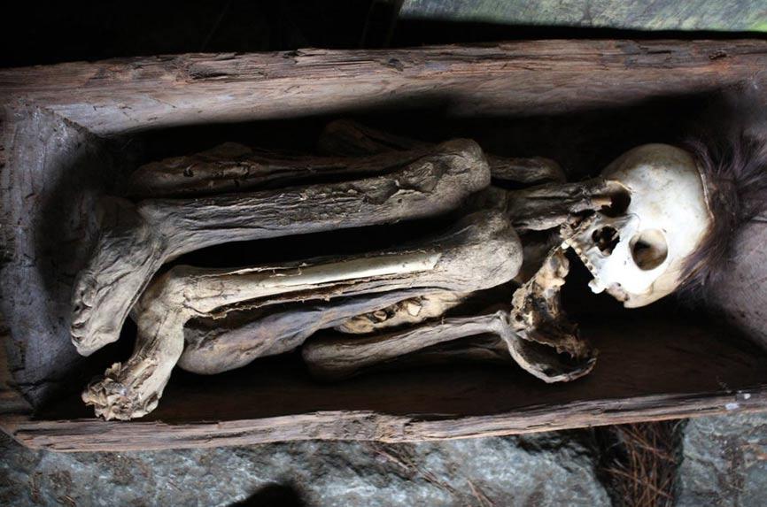 Momia de Kabayan del antiguo pueblo Ibaloi (Filipinas). (Tadolo/ CC BY-NC-SA 2.0)