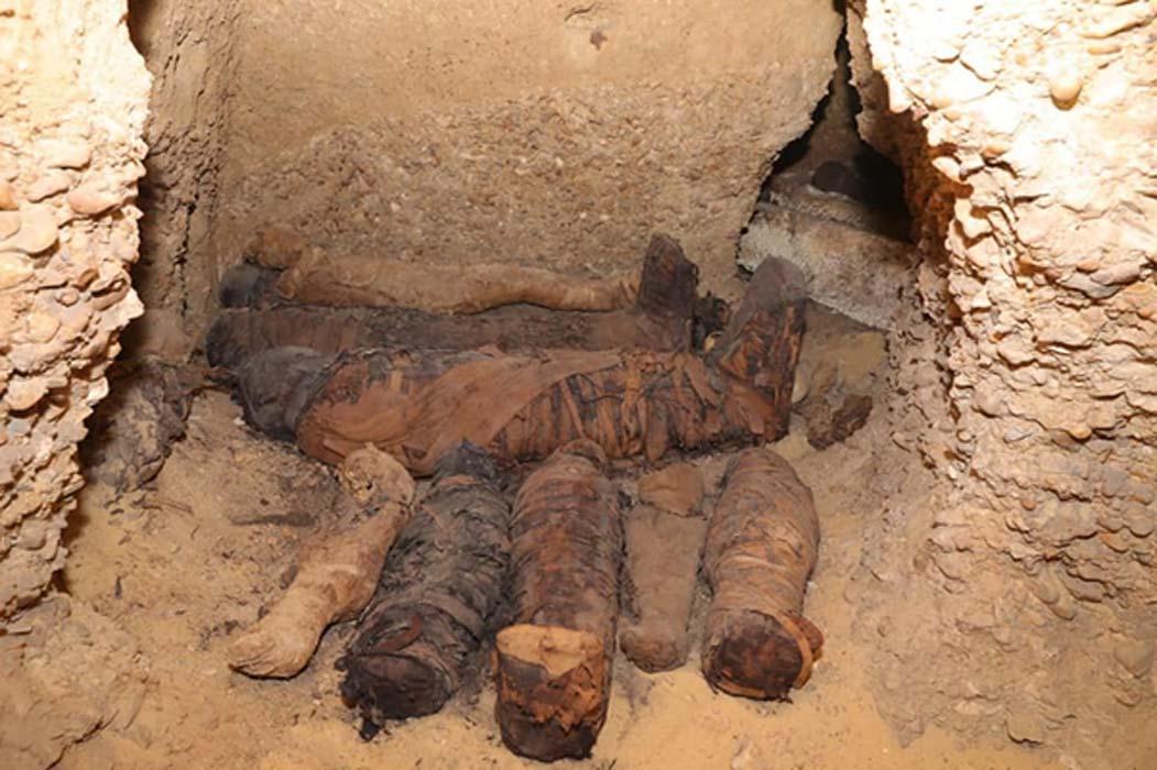 Doce de las momias eran de niños, algunos de ellos de muy corta edad