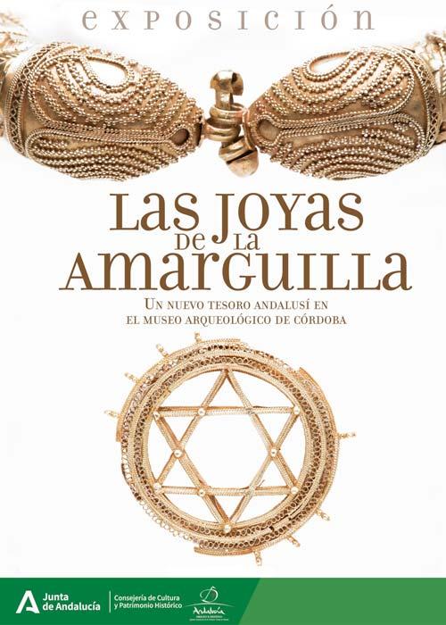 Cartel del museo para su espectacular exhibición del Tesoro de Amarguilla. (Museo Arqueológico y Etnológico de Córdoba)