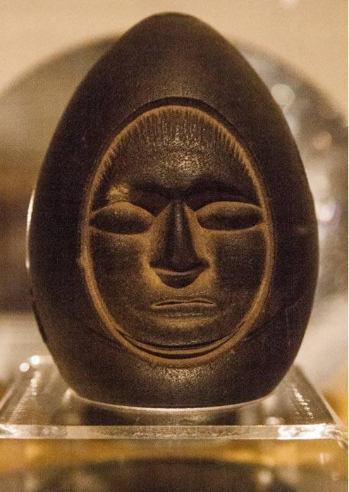 El rostro de la misteriosa piedra del Lago Winnipesaukee, New Hampshire, Estados Unidos (Noahsage)