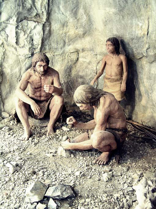 Una familia neandertal. (CC BY-NC 2.0)
