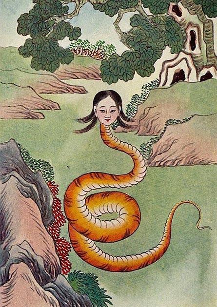 Nuwa, diosa creadora china. (Guss / Dominio público)