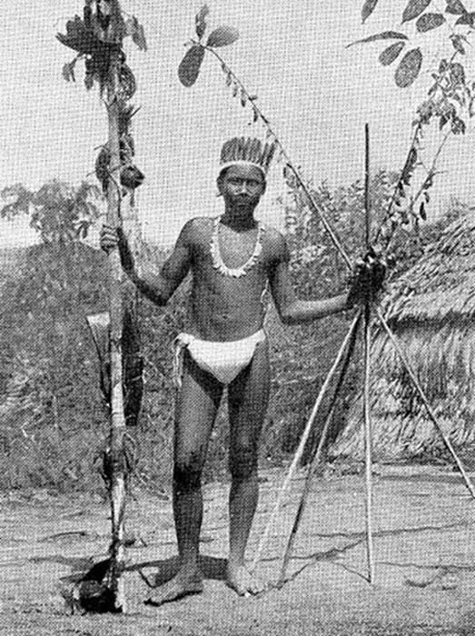 Ocaina, la jefa de Ocaina en 1924, las lenguas Ocaina y Resigaro están en peligro de extinción. (Ji-Elle / Dominio Público)
