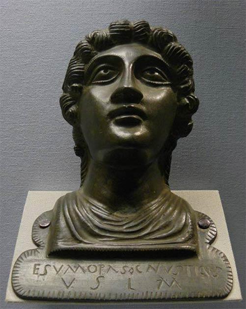 Una ofrenda votiva a una deidad galo-romana sin nombre. (Siren-Com / CC BY SA 3.0)