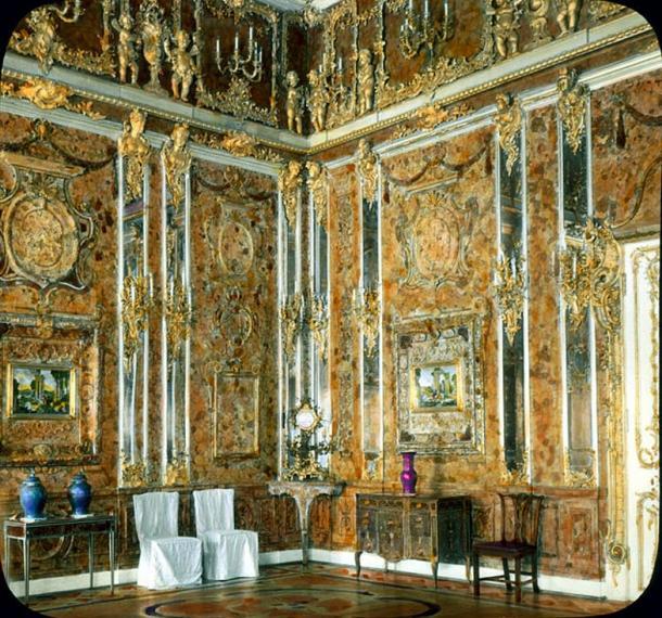 El Salón de Ámbar original, 1931 (Wikipedia)