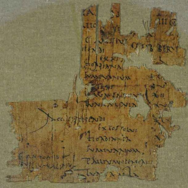 El recibo de pago de Papiro para Gaius Messius muestra que este soldado terminó sin nada después de arriesgar su vida. (Dr. Jo Ball / Ejército de Palestina Romana)
