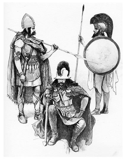 Un nuevo estudio ha descubierto que tres únicos guerreros de la Edad del Bronce son responsables de los actuales patrones genéticos de los europeos.