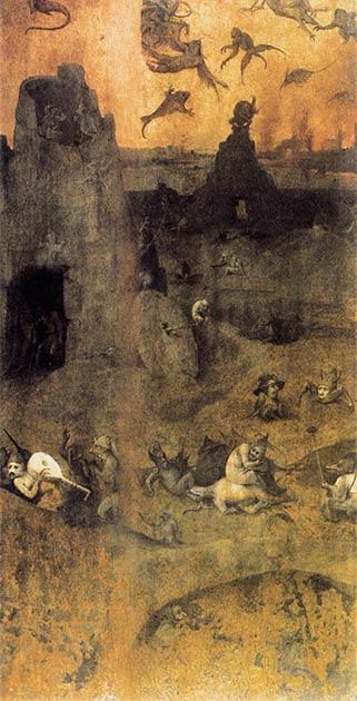 Esta famosa pintura de Hieronymus Bosch muestra ángeles caídos que se dice que son una referencia a los gigantes Nefilim / Anakim que precedieron a los cananeos en el Levante. (Hieronymus Bosch / Dominio público)