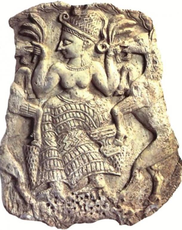 Placa que representa a Asera. (Enciclopedia Looklex)