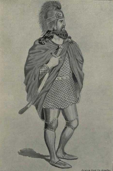 Retrato de Vardan Mamikonian. (Ohan Gaidzakian (1837-1914) / Dominio público)