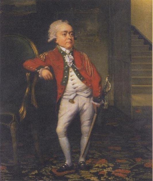 Retrato de Józef Boruwłaski (1739-1837), enano de corte polaco y músico. (Dominio público)