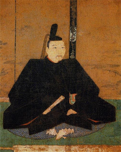 Retrato de Shogun Yoshimasa del Shogunato Ashikaga. (Tosa Mitsunobu / Dominio público)