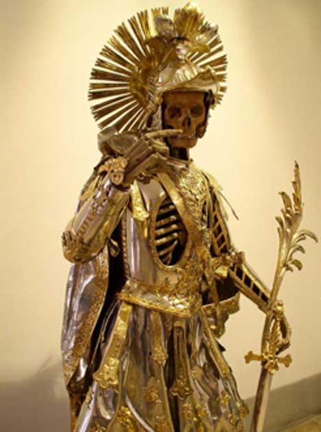 Catacumba de San Pancras en exposición en Wil, Suiza. (Dbu / CC BY-SA 3.0)