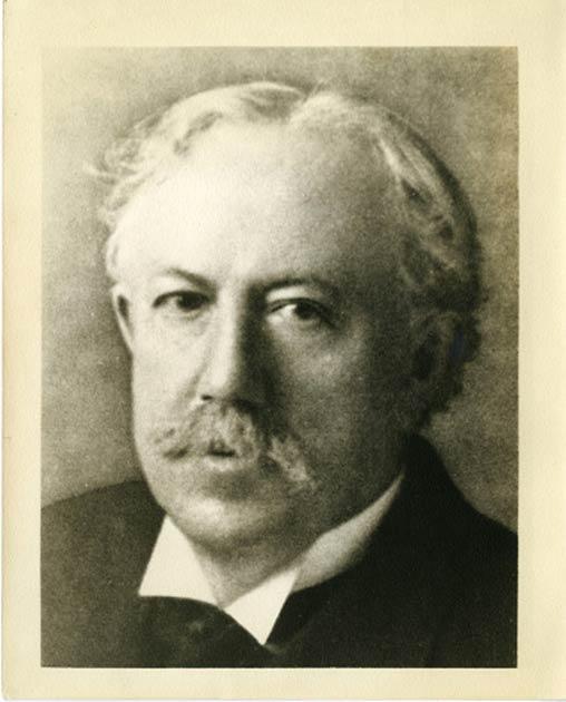 La foto del profesor Jordan se puede encontrar en los Archivos del Smithsonian, a pesar de que niegan cualquier asociación con él. (Archivos del Smithsonian)
