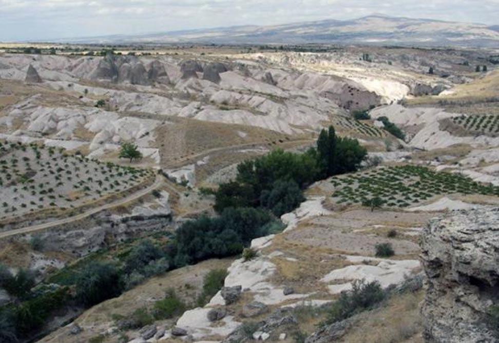 La provincia de Nevşehir en Capadocia, Turquía (Wikimedia Commons)