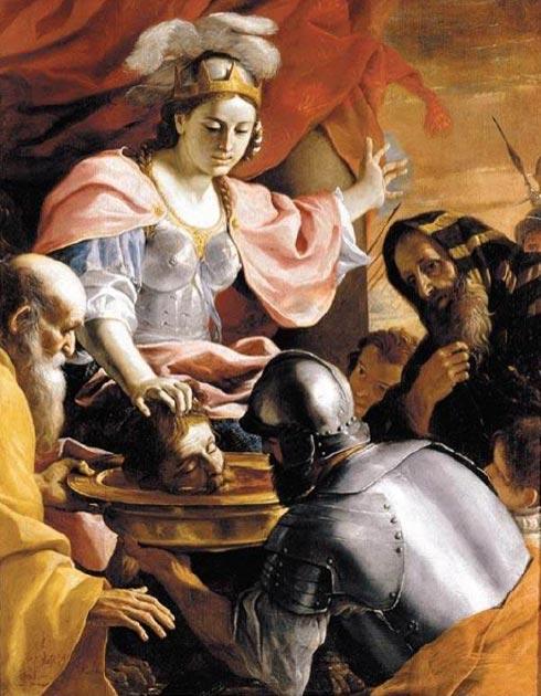 La reina Tomyris de los Masagetas recibiendo la cabeza de Ciro el Grande. (Mattes / Dominio Público)