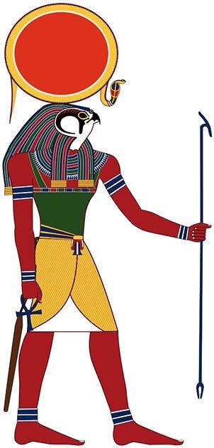Ra-Horakhty, el dios egipcio era el dios del sol y los reyes. (Perhelion / CC BY-SA 3.0)
