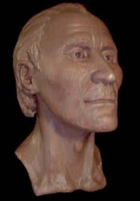 Reconstrucción facial del rostro del hombre de Grauballe. (Gourami Watcher / CC BY-SA 3.0)