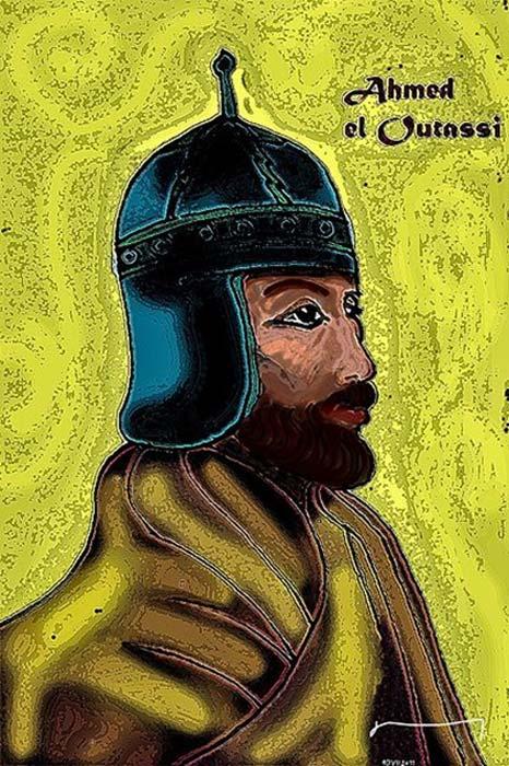 Retrato de Ahmed al-Wattasi, el sultán de Marruecos, con quien Sayyida al-Hurra se casó para formar una alianza. (Victorcouto / Dominio Público)