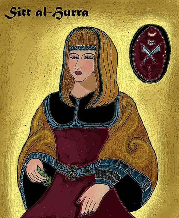 Retrato de Sayyida al-Hurra de Tetuán. (Victorcouto / Dominio Público)