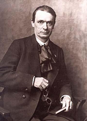 Rudolf Steiner (1861-1925), fundador del sistema educativo Steiner School (dominio público)